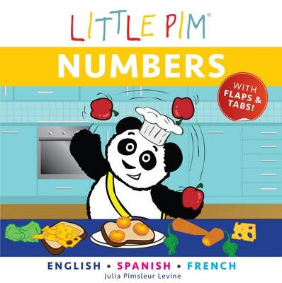 Little Pim: Numbers - English/Spanish/French (Board book)