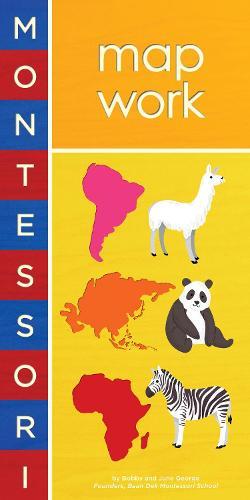 Montessori: Map Work (Board book)