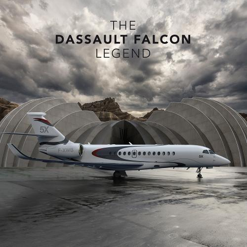 Dassault Falcon Legend (Hardback)