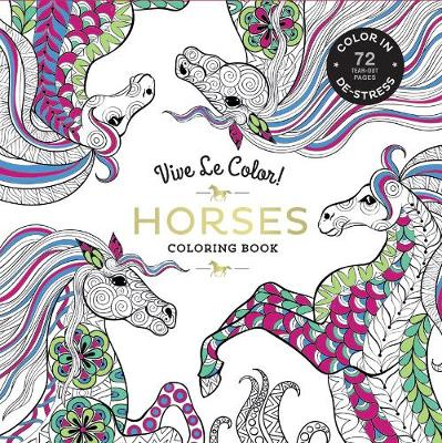 Horses ( Coloring Book ) by Abrams Noterie | Waterstones