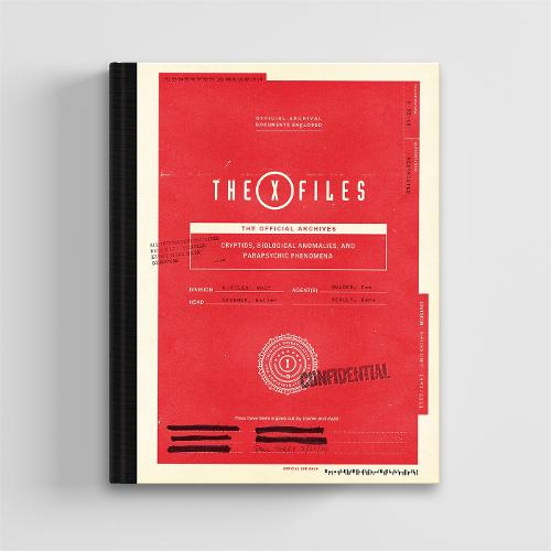 The X-Files: The Official Archives: Cryptids, Biological Anomalies, and Parapsychic Phenomena (Hardback)