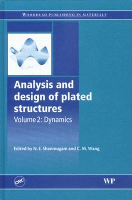 Analysis and design of plated structures: Volume 1:  Stability (Hardback)