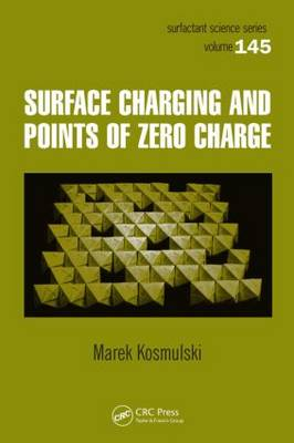 Surface Charging and Points of Zero Charge - Surfactant Science 145 (Hardback)