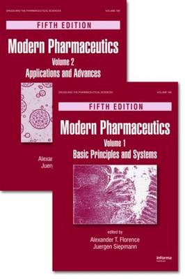 Modern Pharmaceutics, Two Volume Set, Fifth Edition - Drugs and the Pharmaceutical Sciences (Hardback)