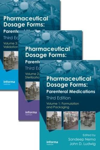 Pharmaceutical Dosage Forms: Parenteral Medications, Third Edition. 3 Volume Set (Hardback)