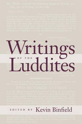 Writings of the Luddites (Paperback)