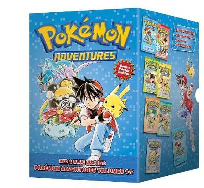 Pokemon Adventures Red & Blue Box Set: Set includes Vol. 1-7 - Pokemon 1 (Paperback)