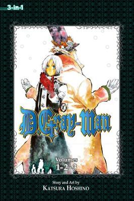 D.Gray-man (3-in-1 Edition), Vol. 1: Includes vols. 1, 2 & 3 - D.Gray-man (3-in-1 Edition) (Paperback)