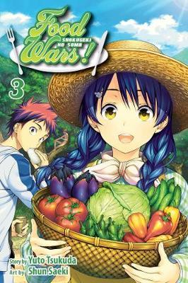 Food Wars!, Vol. 3: Shokugeki no Soma - Food Wars! 3 (Paperback)