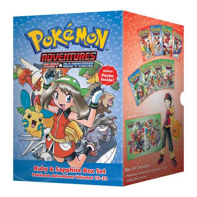 Pokemon Adventures Ruby & Sapphire Box Set: Includes Volumes 15-22 - Pokemon (Paperback)