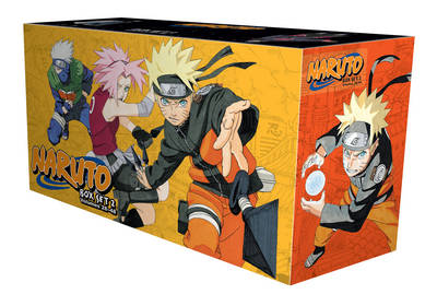 Naruto Box Set 2: Volumes 28-48 with Premium - Naruto 2 (Paperback)