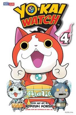 YO-KAI WATCH, Vol. 4 - Yo-kai Watch 4 (Paperback)