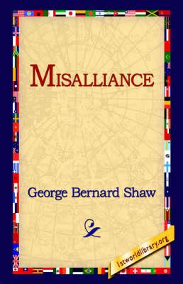 Misalliance (Hardback)