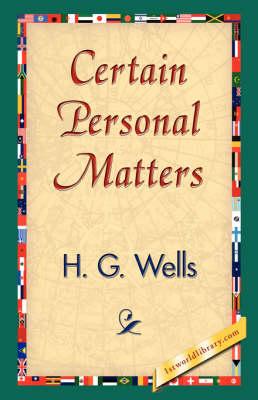Certain Personal Matters (Hardback)
