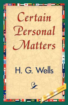 Certain Personal Matters (Paperback)