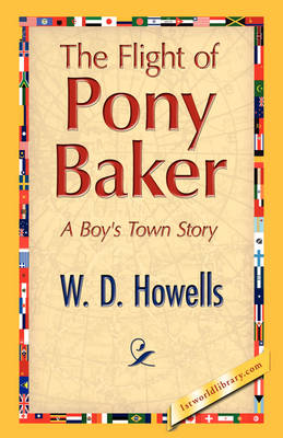 The Flight of Pony Baker (Paperback)