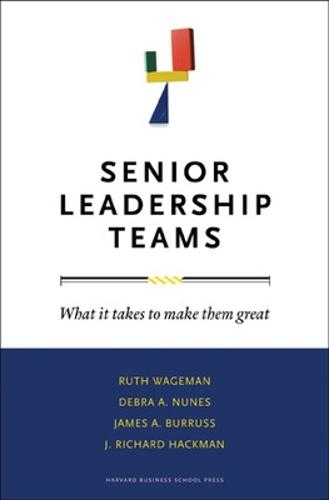 Senior Leadership Teams: What It Takes to Make Them Great - Leadership for the Common Good (Hardback)
