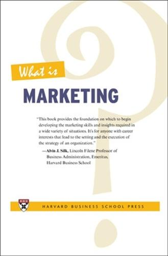 What Is Marketing? (Paperback)