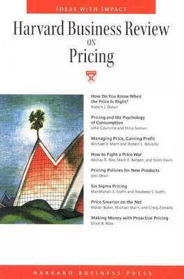 """""""Harvard Business Review"""" on Pricing - Harvard Business Review (Paperback)"""