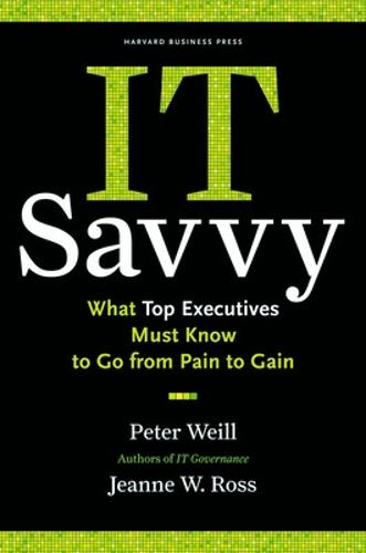 IT Savvy: What Top Executives Must Know to Go from Pain to Gain (Hardback)