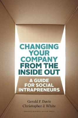 Changing Your Company from the Inside Out: A Guide for Social Intrapreneurs (Hardback)