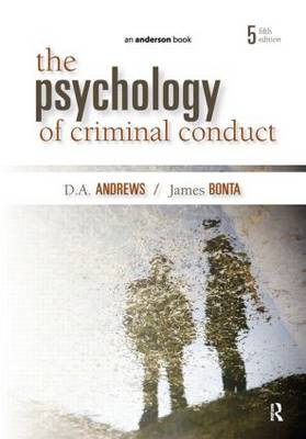 The Psychology of Criminal Conduct (Paperback)