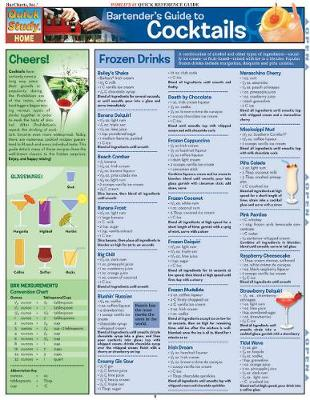 Bartender's Guide to Cocktails: Reference Guide