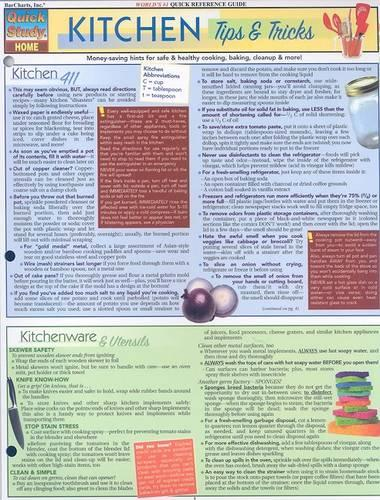 Kitchen Tips and Tricks: Reference Guides