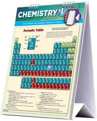 Chemistry Easel Book: a QuickStudy Reference Tool - Core Essentials, Periodic Table, Lab Companion, Equations & Answers (Spiral bound)