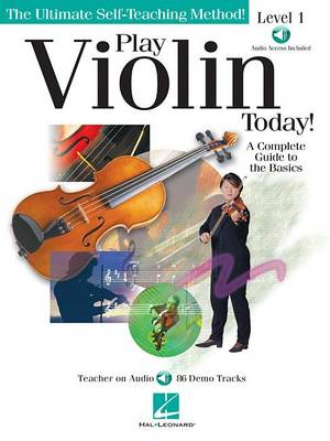 Play Violin Today] Level 1 (Book/Online Audio) (Paperback)