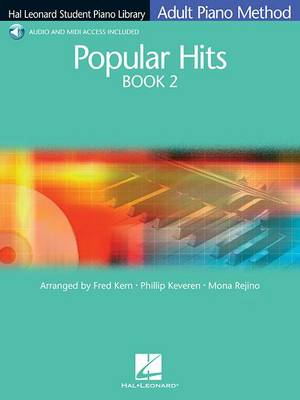 Hal Leonard Student Piano Library Adult Piano Method: Popular Hits Book 2 (Book/Online Audio) (Paperback)