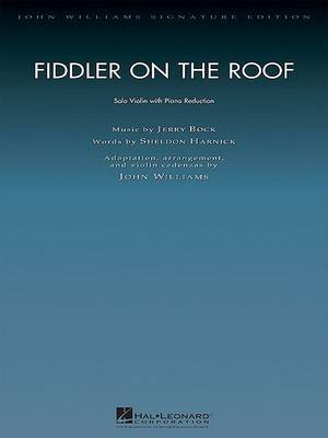 Fiddler On The Roof (John Williams) Violin & Piano Reduction Sc/Pts (Paperback)