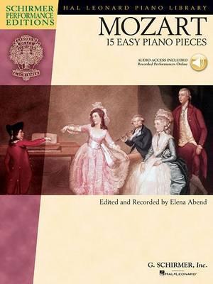W.A. Mozart: 15 Easy Piano Pieces (Paperback)