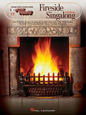 E-Z Play Today 17: Fireside Singalong (Paperback)