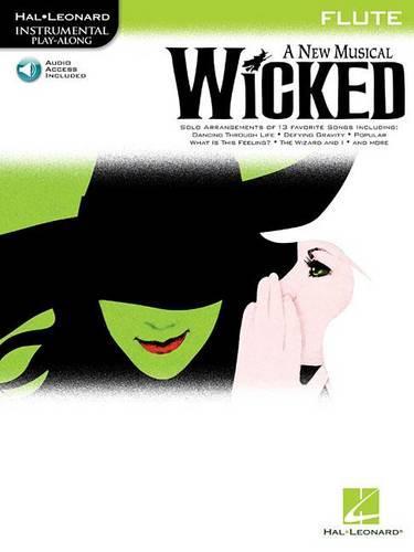 Hal Leonard Instrumental Play-Along: Wicked (Flute) (Paperback)