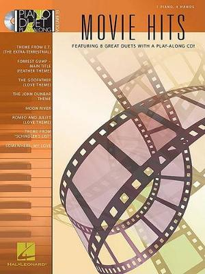 Piano Duet Play-Along Volume 13: Movie Hits (Book/Online Audio) (Paperback)