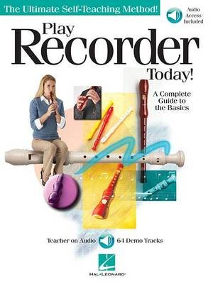 Play Recorder Today] - A Complete Guide To The Basics (Paperback)