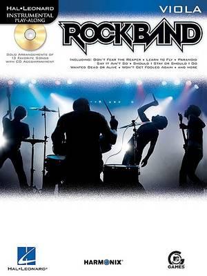 Hal Leonard Instrumental Play-Along: Rock Band (Viola) (Paperback)
