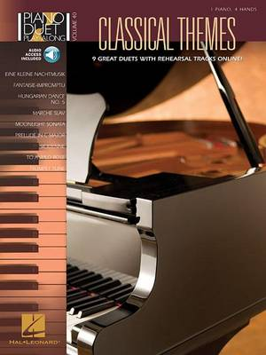 Piano Duet Play-Along Volume 40: Classical Themes (Paperback)