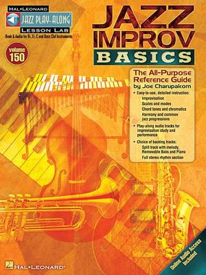 Jazz Play-Along Volume 150: Jazz Improv Basics (Paperback)