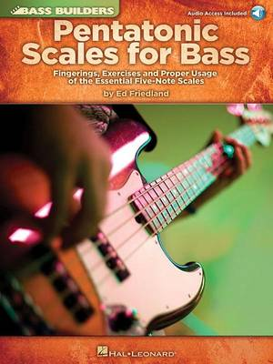 Ed Friedland: Pentatonic Scales For Bass (Paperback)