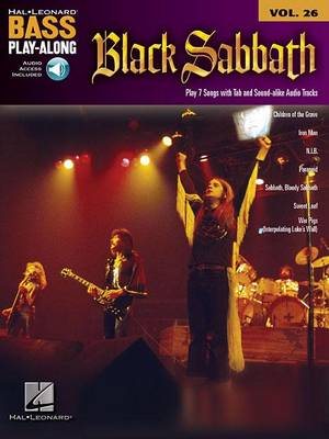 Bass Play-Along Volume 26: Black Sabbath (Book/Online Audio) (Paperback)