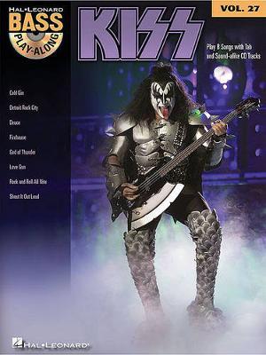 Bass Play-Along Volume 27: Kiss (Paperback)
