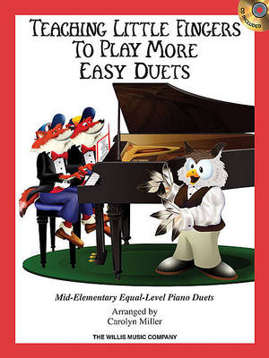 Teaching Little Fingers To Play More Easy Duets (Book/CD) (Paperback)