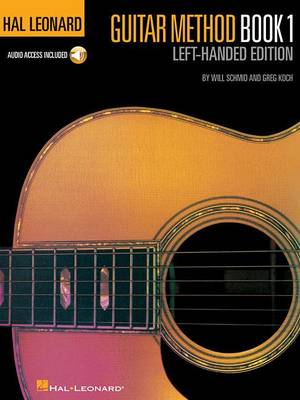 Hal Leonard Guitar Method: Book 1 - Left-Handed Edition (Book/Online Audio) (Paperback)