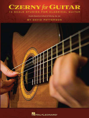 Czerny For Guitar - 12 Scale Studies For Classical Guitar (Paperback)