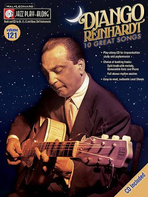 Jazz Play-Along Volume 121: Django Reinhardt (Paperback)