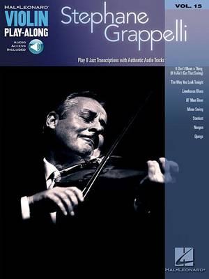 Violin Play-Along Volume 15: Stephane Grappelli (Paperback)