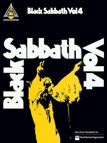 Black Sabbath - Guitar Recorded Versions (Paperback)