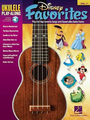 Ukulele Play-Along Volume 7: Disney Favorites (Paperback)